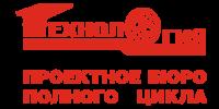 Лого Технология красный заливка